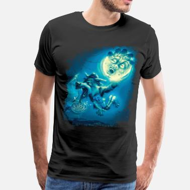 Werewolf Hoops Basketball - Men's Premium T-Shirt