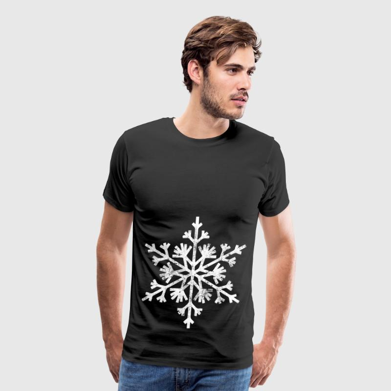 Big snowflake christmas t shirt - Men's Premium T-Shirt