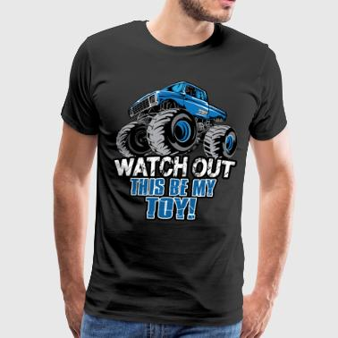 Chevy Trucks Monster Truck Toy - Men's Premium T-Shirt
