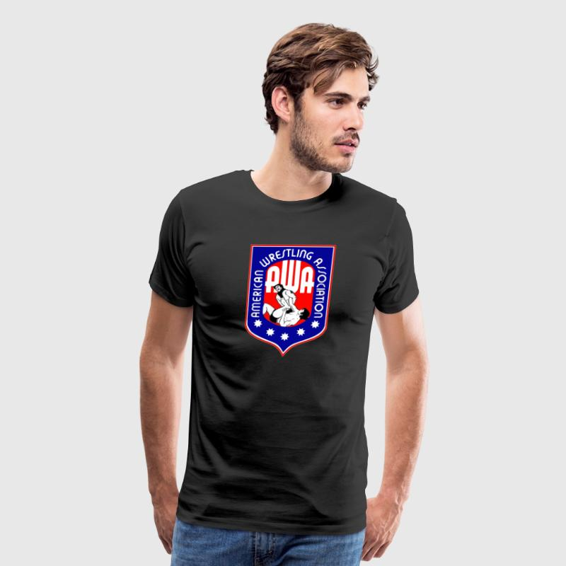 AWA WRESTLING - Men's Premium T-Shirt