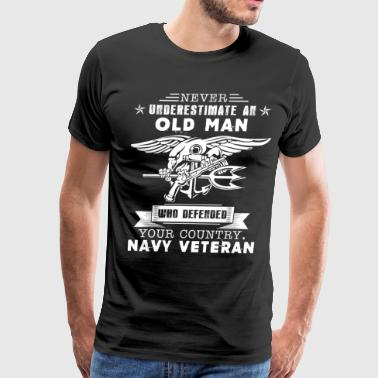 Old Man Navy Veteran Tee - Men's Premium T-Shirt