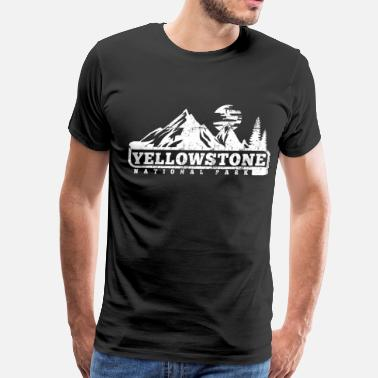 Park Yellowstone National Park - Men's Premium T-Shirt