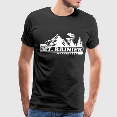 Mount Rainier - Men's Premium T-Shirt
