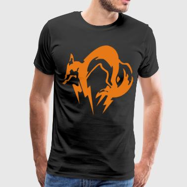 fox mgs - Men's Premium T-Shirt