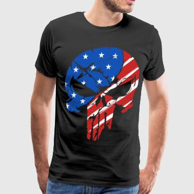 american punisher 1 - Men's Premium T-Shirt