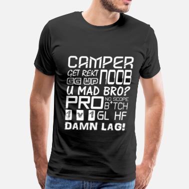 Counter Strike Shooter Quotes - Men's Premium T-Shirt