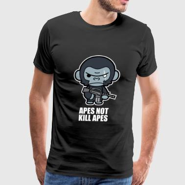 Apes Planet Apes Not Kill Apes - Koba - Men's Premium T-Shirt