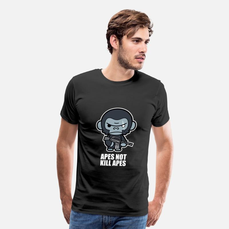 a1ee4f11610 Apes Not Kill Apes - Koba Men's Premium T-Shirt | Spreadshirt