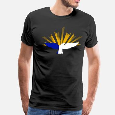 Azores SdfsdPREADSHIRT .png - Men's Premium T-Shirt