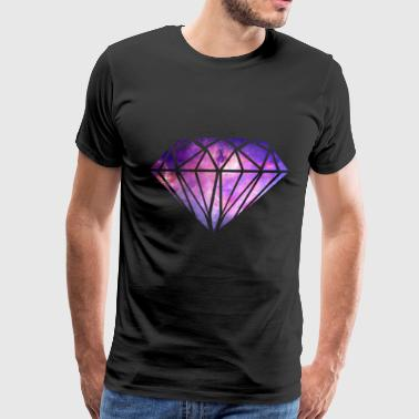 Galaxy Diamond - Men's Premium T-Shirt