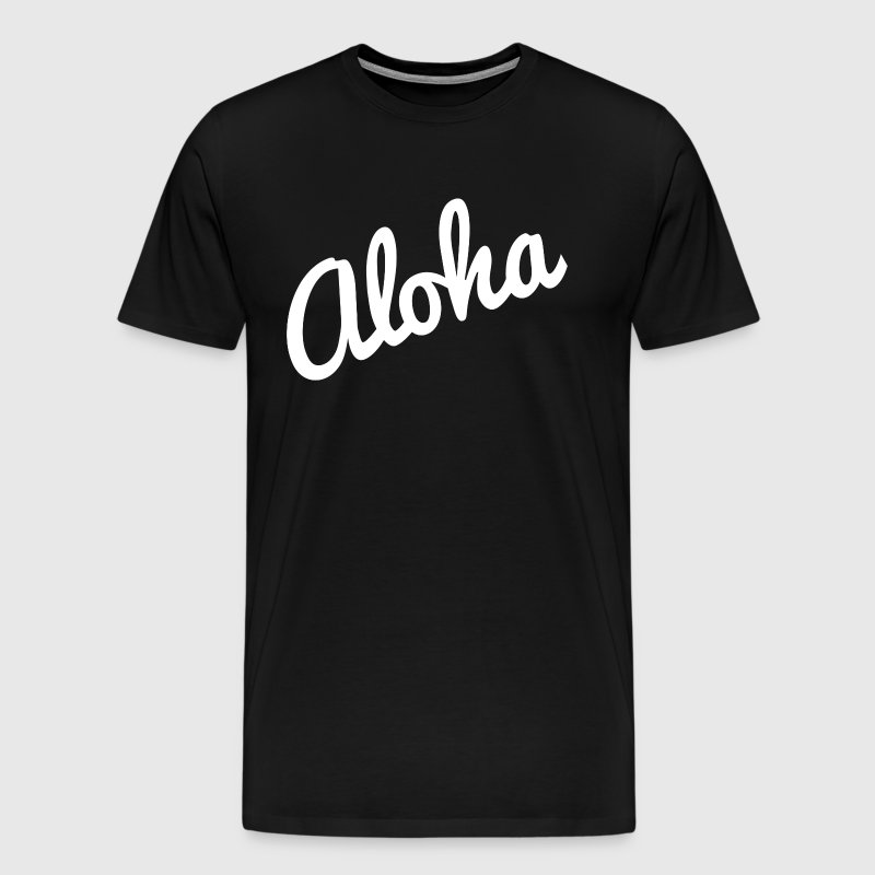Aloha Hawaii Vacation Holiday Trip - Men's Premium T-Shirt