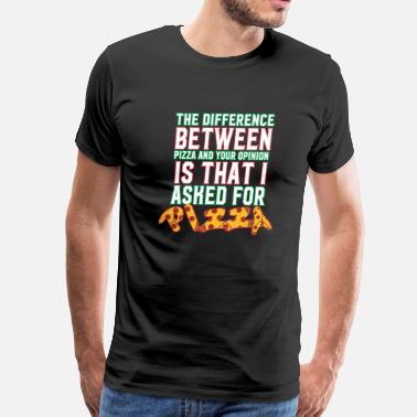 Smart The Difference Between - Men's Premium T-Shirt