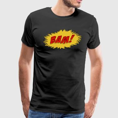 Bam! - Comic Book Sound - Men's Premium T-Shirt