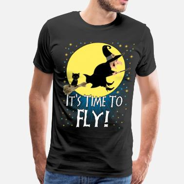 Witchcraft It's Time To Fly! - Men's Premium T-Shirt
