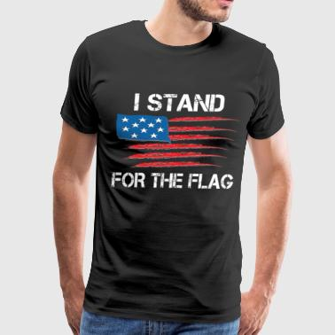 I Stand For The Flag - Men's Premium T-Shirt