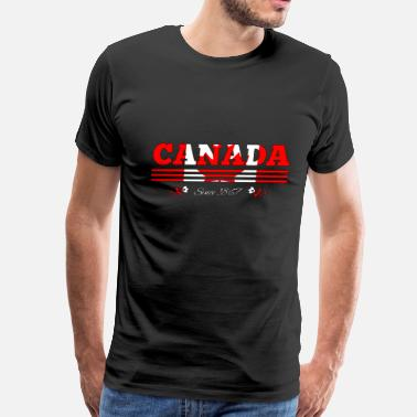 Canada 1867 colorized CANADA since 1867 - Men's Premium T-Shirt