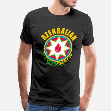 Azerbaijan Azerbaijan coat of arms - Men's Premium T-Shirt