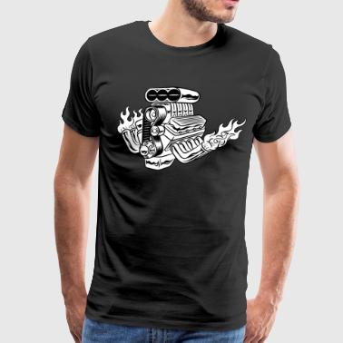 Hot Rod HD Design - Men's Premium T-Shirt
