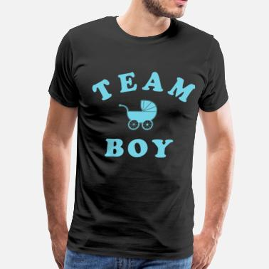 Baby Shower team boy - Men's Premium T-Shirt