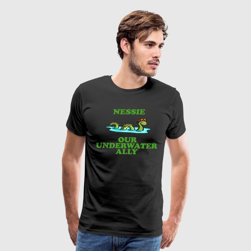 Nessie Our Underwater Ally - Men's Premium T-Shirt