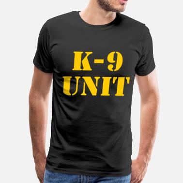 Police Dog k-9 Unit - Men's Premium T-Shirt