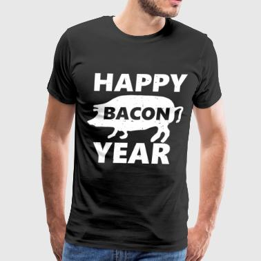 New Chef 2019 - Year Of The Pig Bacon Funny Gift - Men's Premium T-Shirt