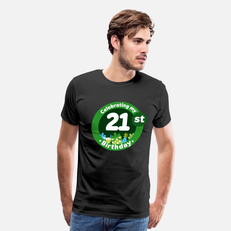 21st Birthday T Shirts