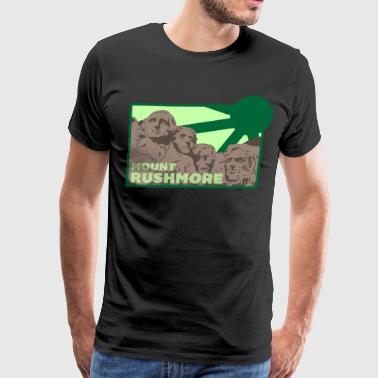 rushmore 3 - Men's Premium T-Shirt