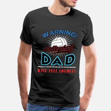 Volleyball Dad Volleyball, Volleyball dad - Men's Premium T-Shirt