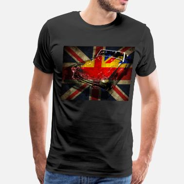 Mg MG British Invasion - Men's Premium T-Shirt