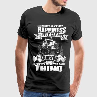Farmers Tractor tractor make me happy, farmers wife,farmer funny - Men's Premium T-Shirt