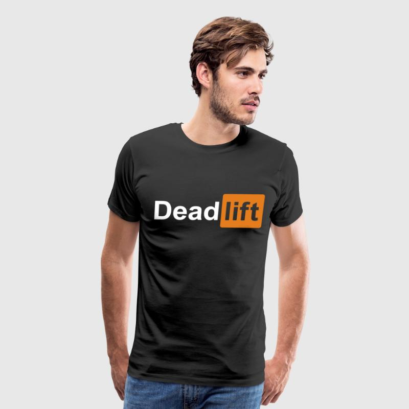 The Deadlift gym t-shirts - Men's Premium T-Shirt