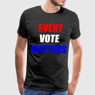 every vote matters - Men's Premium T-Shirt