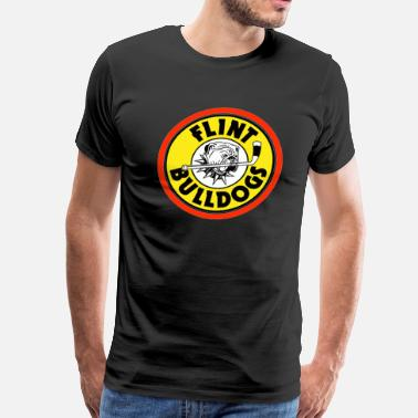 Flint Flint Bulldogs - Men's Premium T-Shirt