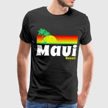 Hawaii Maui Hawaii - Men's Premium T-Shirt