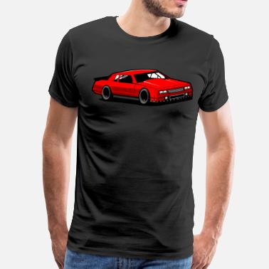 Carlo Chevy Monte Carlo Racing Car - Men's Premium T-Shirt