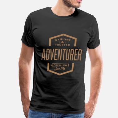 Funny Bartender Adventurer - Funny Job and Hobby - Men's Premium T-Shirt