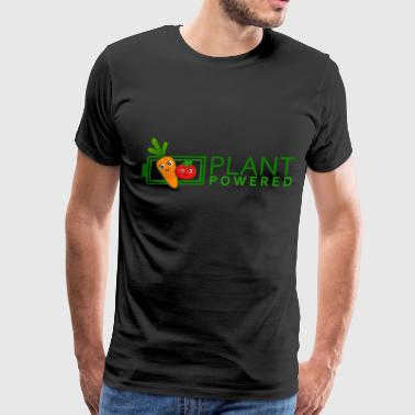 Vegan - Plant Powered Energy (Carrot, Tomato) - Men's Premium T-Shirt