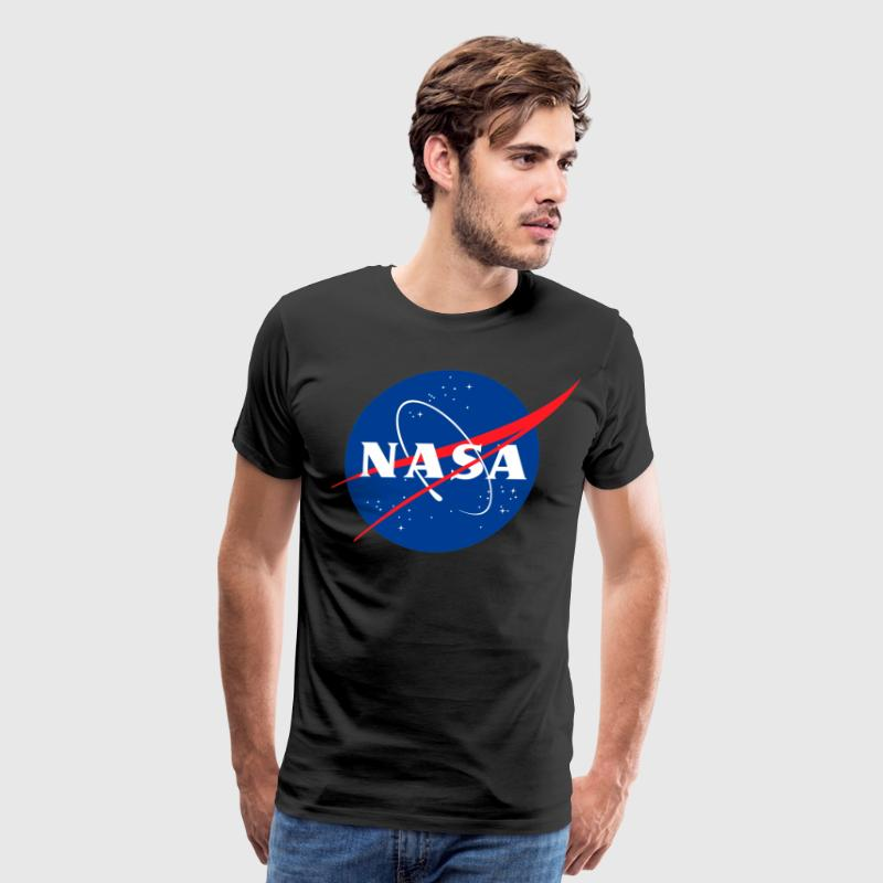 NASA Logo Shirt - Men's Premium T-Shirt
