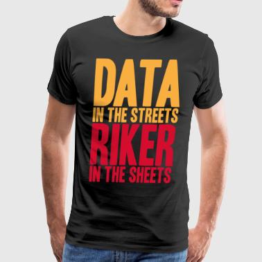 DATA IN THE STREETS - Men's Premium T-Shirt