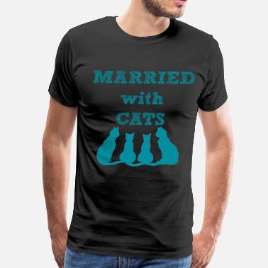Married With Cats Married With Cats - Men's Premium T-Shirt