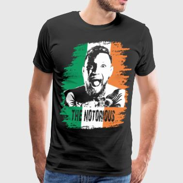 Mcgregor notorious irish - Men's Premium T-Shirt