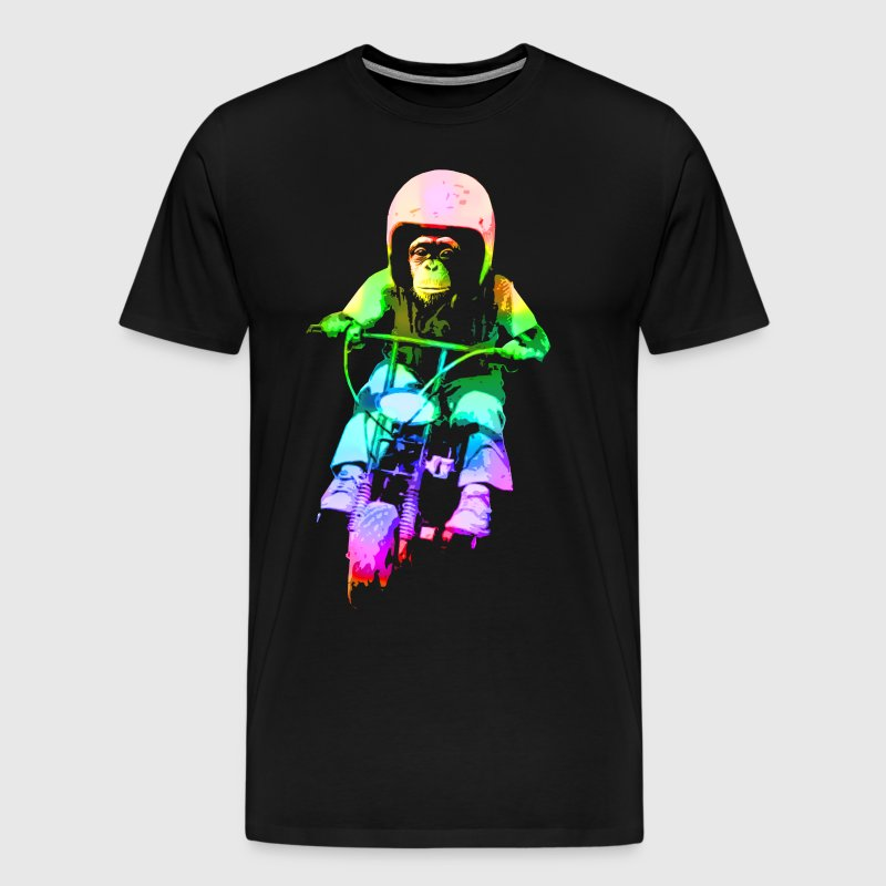 MOTO CHIMP! - Men's Premium T-Shirt