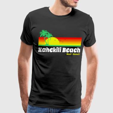 Maui Beach Kahekili Beach Maui - Men's Premium T-Shirt