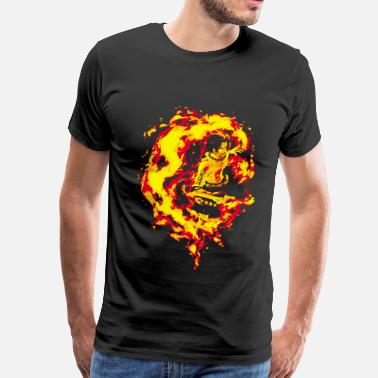 Portgas D Ace Fire Fist Ace - Men's Premium T-Shirt