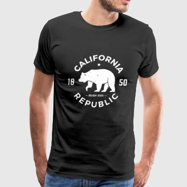 Republic Of California California Republic - Men's Premium T-Shirt