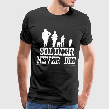 SOLDIER2356.png - Men's Premium T-Shirt
