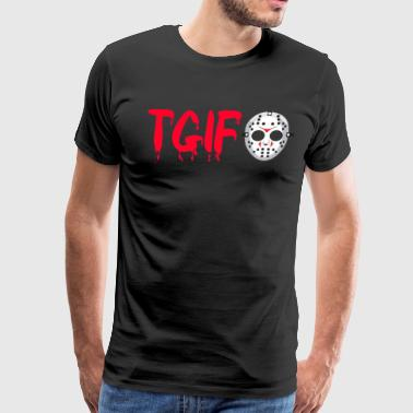 TGIF - Friday The 13th - Jason - Men's Premium T-Shirt
