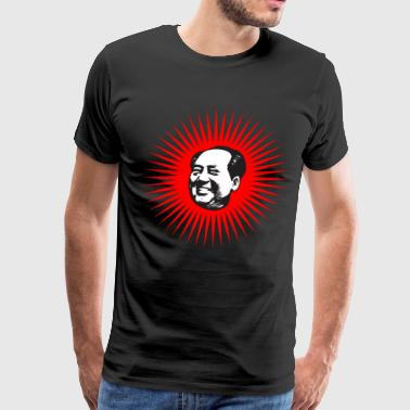 Chairman Mao Head - Men's Premium T-Shirt