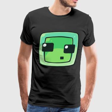 Minecraft Slime - Men's Premium T-Shirt